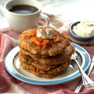 Vegan carrot cake pancakes recipes