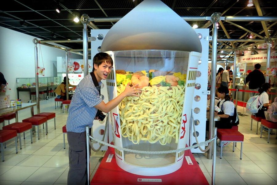 Cup noodles-museum-japan