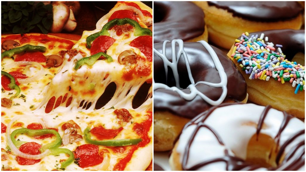 Doughnut vs. Pizza