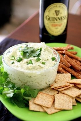 St. Patrick's day Recipes - Guinness Cheddar Dip