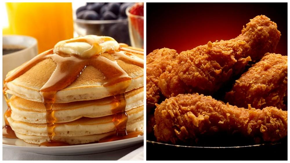 Pancakes vs. Fried Chicken